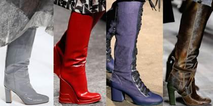 модная обувь осень-зима 2015-2016, модные тенденции