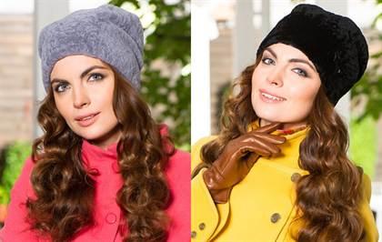 мягкие шапки на осень 2015