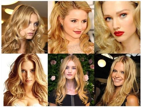 блондинка 2016