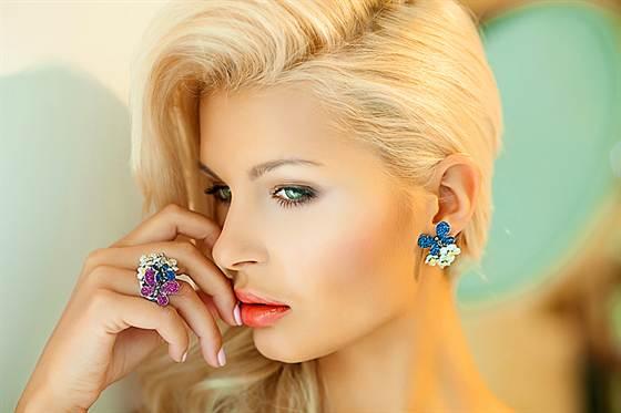 красивый и модный макияж для блондинок 2016, фото новинки 1