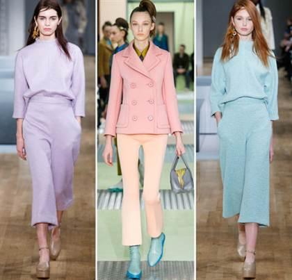 модные цвета весна-лето 2016 2