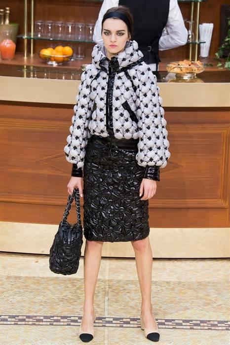 фото пуховиков от Chanel 2
