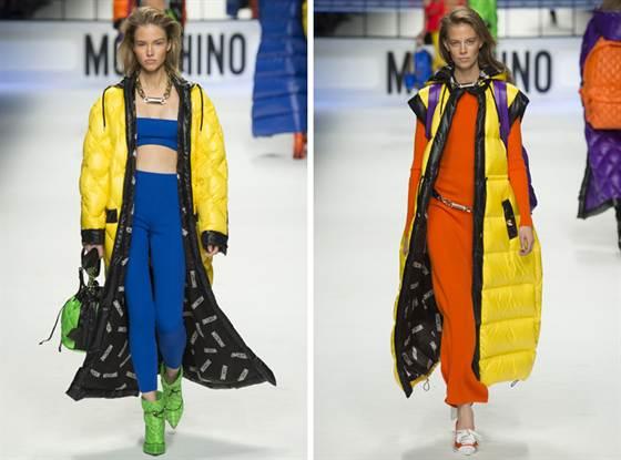 модные пуховики от Moschino 2
