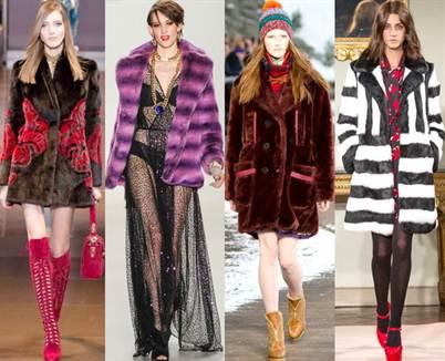 модные шубы 2016-2017, фасоны от «А» до «Я» 4