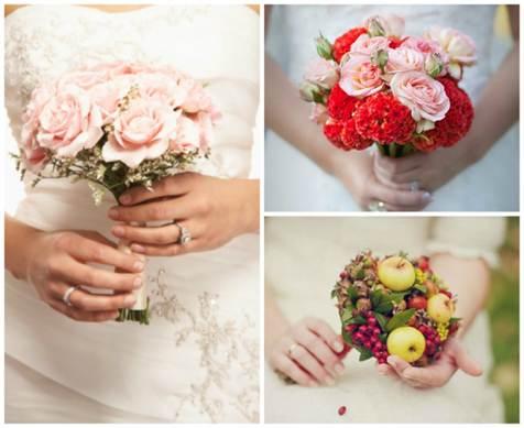 мини-букеты для невесты 2016 1