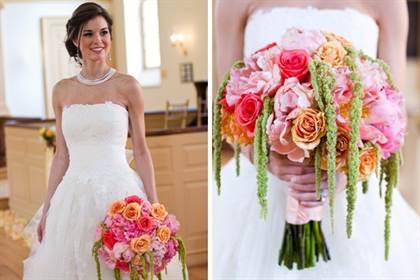 свадебные букеты 2016 фото, модные и красивые 7