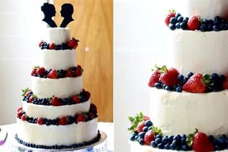 свадебный торт 2016