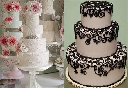 кружевной торт 1