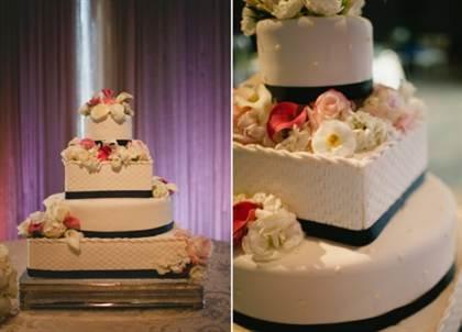 трёхъярусные торты на свадьбу 2016, фото 2