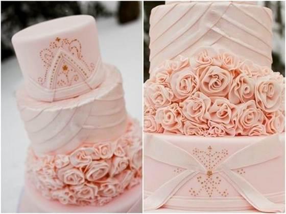 торт со съедобными розами из крема 4