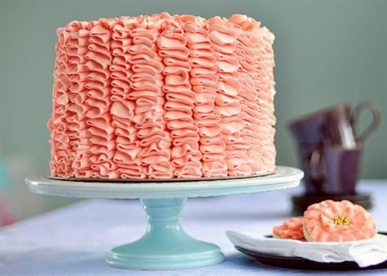гофрированный торт 2