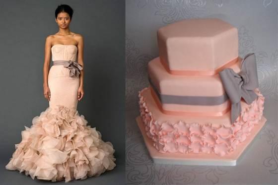 гофрированный торт 3