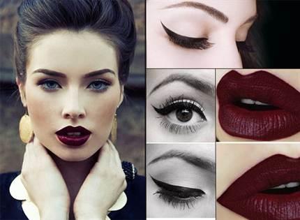 вечерний макияж, фото новинки 2016 1