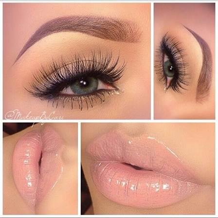 вечерний макияж, фото новинки 2016 14