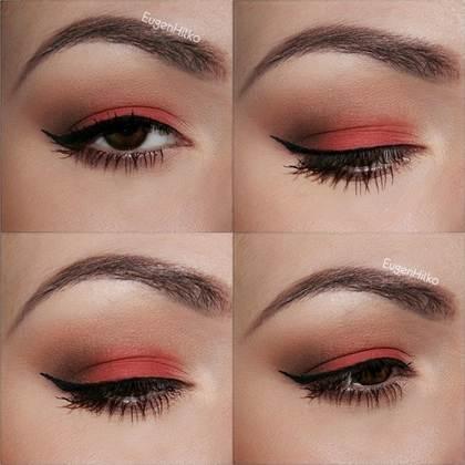 вечерний макияж, фото новинки 2016 16