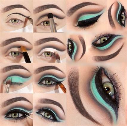 вечерний макияж, фото новинки 2016 17