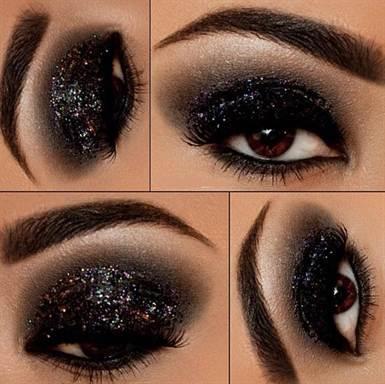 вечерний макияж, фото новинки 2016 18