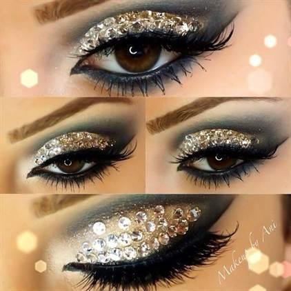 вечерний макияж, фото новинки 2016 8