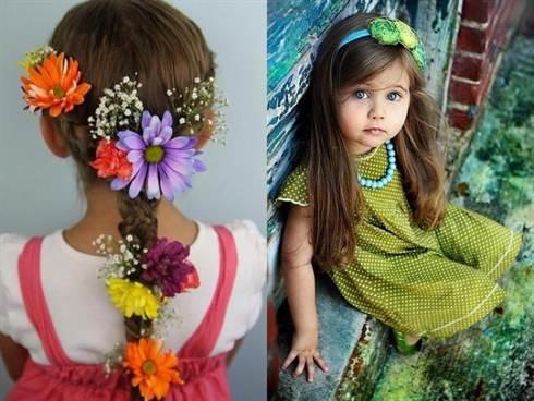 красивые и модные детские прически весна-лето 2016 1