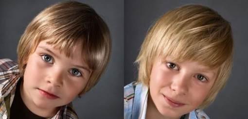 фото детских причесок для мальчиков весна-лето 2016 1