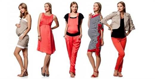 мода для беременных весна-лето 2016