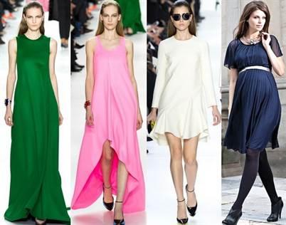одежда для беременных выбранная исходя моды весенне-летнего сезона 2016