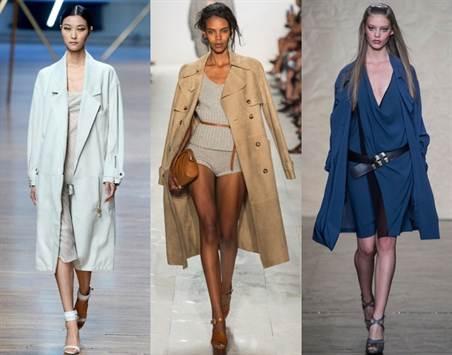 модные двубортные плащи весна-лето 2016 1