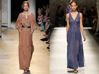 повседневные платья весна-лето 2016, модные тенденции 1