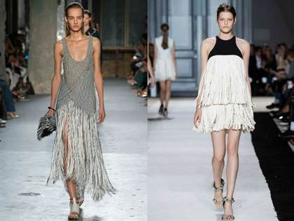 повседневные платья весна-лето 2016, модные тенденции 2
