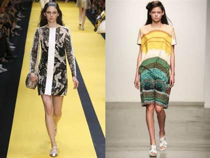 повседневные платья весна-лето 2016, модные тенденции 3