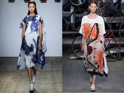 повседневные платья весна-лето 2016, модные тенденции 4
