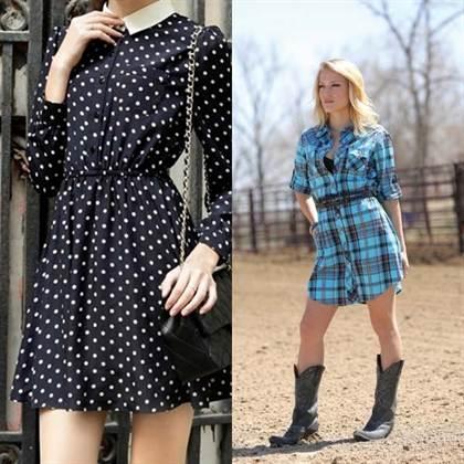 платья – рубашки 4