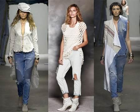 рваные джинсы 2016 женские, фото 1