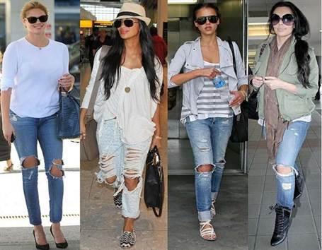 рваные джинсы 2016 женские, фото 2