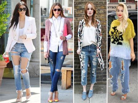 рваные джинсы 2016 женские, фото 4
