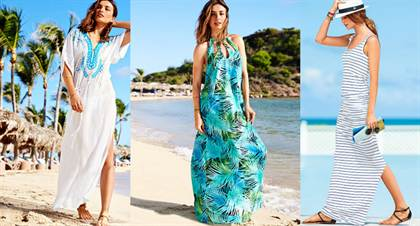 пляжные сарафаны + фото 2
