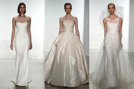модные цвета свадебных платьев весны и лета 2016 1