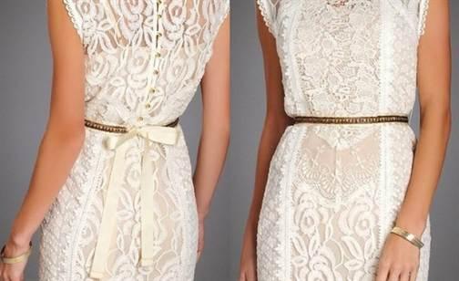 кружевные свадебные платья 1