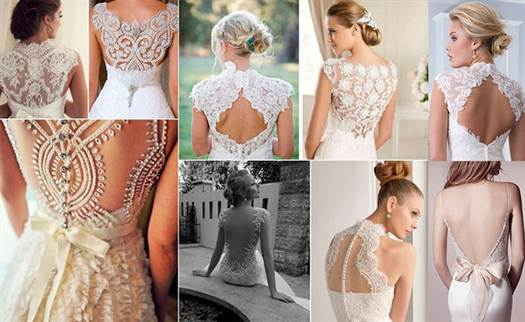 кружевные свадебные платья 3