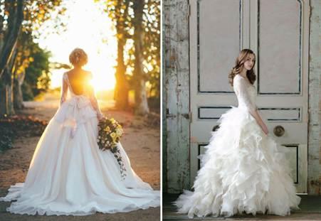 фото свадебных платьев в стиле ретро 1