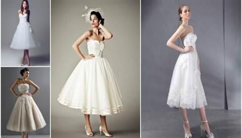 фото свадебных платьев в стиле ретро 5