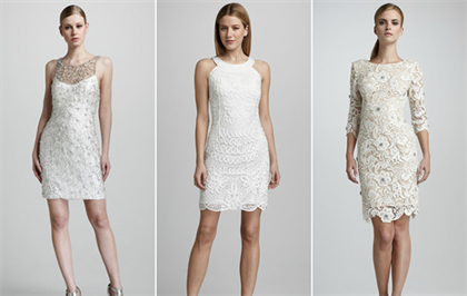 короткие свадебные платья 2016 3