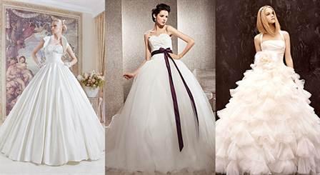 модные цвета свадебных платьев весны и лета 2016 3