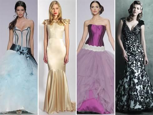 модные цвета свадебных платьев весны и лета 2016 7