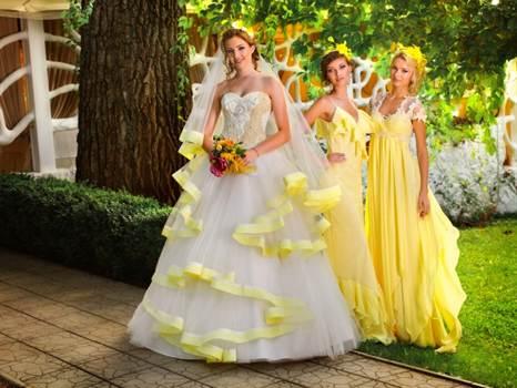 модные цвета свадебных платьев весны и лета 2016 9