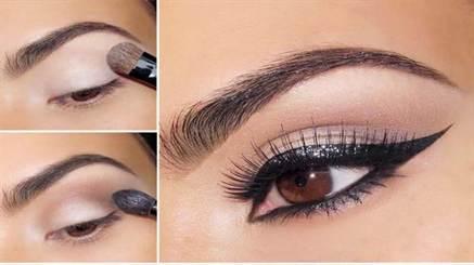 свадебный макияж для карих глаз 2