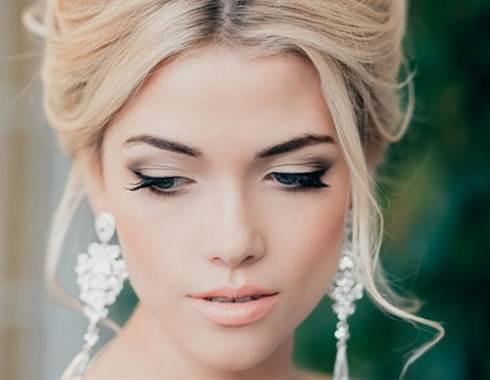 свадебный макияж для карих глаз 3