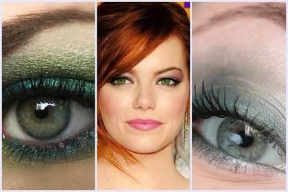 свадебный макияж для зеленых глаз 2