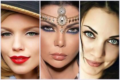 свадебный макияж для зеленых глаз 3