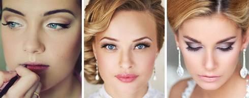 свадебный макияж для голубых глаз 3